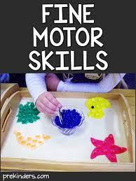 fine motor skills activities prekinders