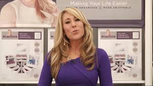 watch the video for lori greiner reg spinning cosmetic organizer in white