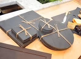 round slate table mats slate candle holder and slate coaster made newstar stone email