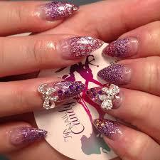 29+ Glitter Acrylic Nail Art Designs, Ideas | Design Trends ...