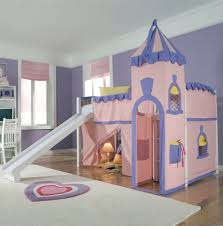 Charming Triple Bunk Bed With Slide Pictures Inspiration ...