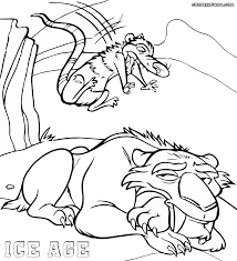 Small Picture Coloring Pages Iceage Coloring Pages Free Printable Colouring