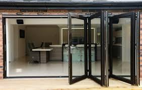 elegant bi fold doors for homes bi fold doors home office