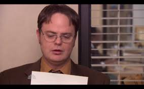 michael scott s letter of recommendation for dwight flawless victory michaels recommendation letter for