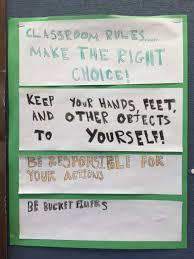 Preschool Class Rules Chart Anchor Charts For Classroom Management Scholastic