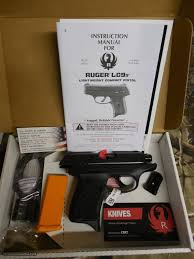 ruger ec9s standard double 9 mm luger 3 12 barrel