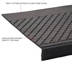 exterior stair treads and nosings. flooring \u0026 carpeting | stair treads outdoor recycled rubber tread 60\u0026quot;w black 443388 - globalindustrial.com exterior and nosings c
