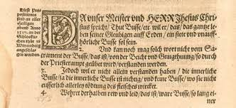 will nail martin luther s theses again one of the theses in the original document