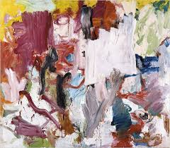 a detail from willem de kooning s 1977 abstract oil untitled v fetched 27 1 million the highest ever offered for a postwar painting at auction