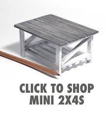 dollhouse furniture plans. diy mini woodworking miniature coffee table using 2x4s dollhouse furniture plans s