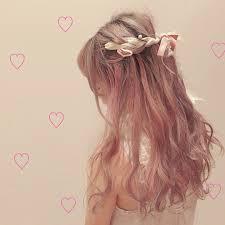 ヘアアクセサリーで可愛いハーフアップアレンジ10選編み込み髪飾り Belcy