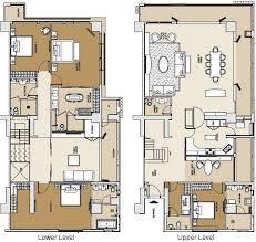 Stunning Design 5 4 Bedroom Duplex Floor Plans House  Homeca4 Bedroom Duplex Floor Plans