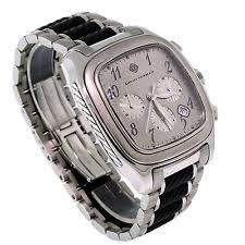 david yurman mens watch limited ed yurman thoroughbred belmont ss rubber chronograph automatic men watch