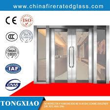 china steel frame fireproof glass door china fire rated glass doors fire rated doors with glass