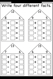 Write Addition Or Subtraction Fact For Each Number Mathsdiary Com ...