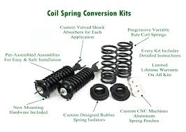air suspension coil spring conversion kits