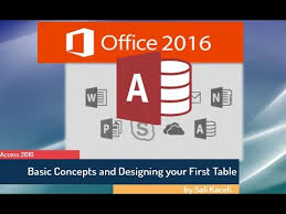 What Is Microsoft Access Microsoft Access 2016 For Beginners Creating A Database From Scratch