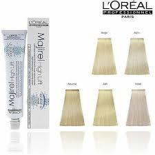 Majirel High Lift Shade Chart Loreal Majirel Highlift Hair Colour Dye Permanant 50ml Official Loreal Stockists Ebay