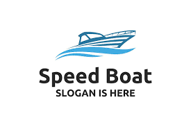 Architecture Logo Design Samples Speed Boat With Waves Sailing Logo Design