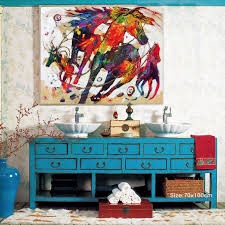 modern art for office. find more painting u0026 calligraphy information about hand painted oil animals horses modern canvas art watercolor office living room home decor free for