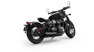 higher spec triumph bonneville bobber black for 2018