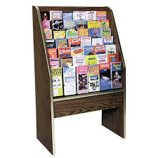 Free Standing Literature Display Magnificent Free Standing Brochure Stand Brochure Racks Free Standing Literature