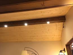 lighting for beamed ceilings. from the door way lighting for beamed ceilings
