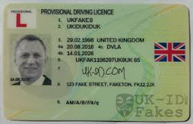 Driving Provisional Id Fake Licence Uk