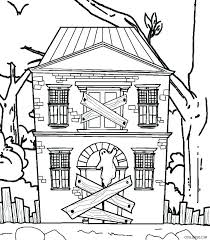 House Coloring Pages Printable This Coloring Page For Kids Features