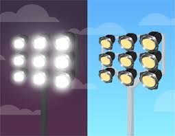 Stadium Lights Effect Bright Stadium Lighting Download Free Vectors Clipart