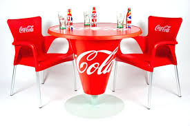coca cola table and chair photo 5 of 6 chairs uk coca cola table and chair