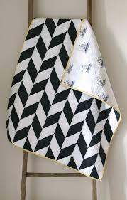 navy and white nautical herringbone quilt. (Craftyblossom ... & navy and white nautical herringbone quilt. Adamdwight.com