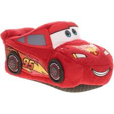 Lightning Mcqueen Bedroom Furniture Cars Toddler Boys Lightning Mcqueen Slipper Walmartcom