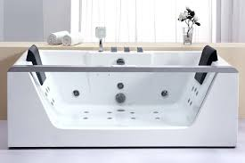 jetted tub with heater freestanding bathtub with jets residential whirlpool bath tub ho rectangular living vanity