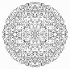 Small Picture Advanced Christmas Coloring Page 20 Free coloring Mandala and