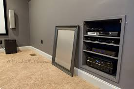 Home Theater Cabinet Home Theater Part 4 The Hall Way