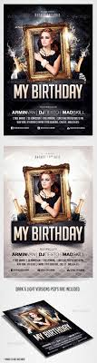 Birthday Invitation Flyer Template Birthday Party Invitation Flyer Template By Saltshaker24 GraphicRiver 2