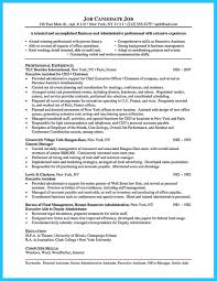 Administrative Assistant Resume Objective Resume Objective Executive