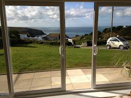 image of modern double sliding patio doors