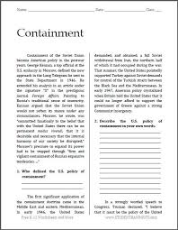 best america in the cold war images history containment cold war reading questions to print pdf file for