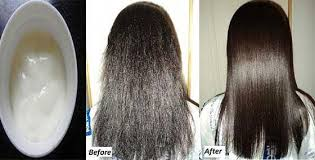 use this cream on your hairs and get salon like straight and silky hairs at home