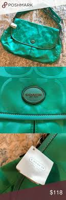Authentic Coach Teal Green Messenger Bag. Teal Green ColorMint ...