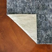 are natural rubber rug pads safe for hardwood floors pad home depot non slip felt and