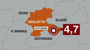 Malatya'da 4,7 büyüklüğünde deprem! Çevre illerden de hissedildi