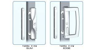 double sliding glass door security locks