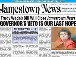 Senator accuses Cooper of 'brown nosing' after veto of newspaper notice  bill :: WRAL.com