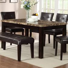 white marble table top. kitchen:white marble table top dining brown round kitchen white e