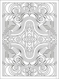 Small Picture Highly Detailed Printable Coloring Page Of Geometric Pattern For