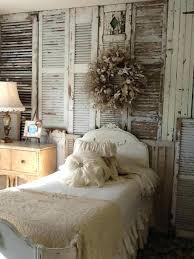window shutter statement wall farmhouse bedroom decor rustic best ideas