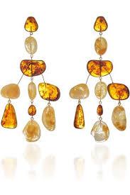 cult gaia sloane stone chandelier earrings